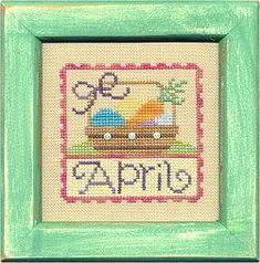 April Stamp Flip-It model from Lizzie Kate