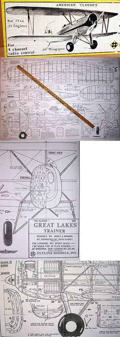 Giant 1//4 Scale American Cessna L-19  Bird Dog Plans /& Templates 108ws