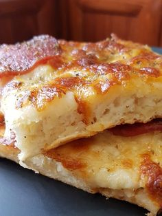 Lasagna, Pizza, Cooking Recipes, Cheese, Breakfast, Ethnic Recipes, Garlic, Foods, Morning Coffee