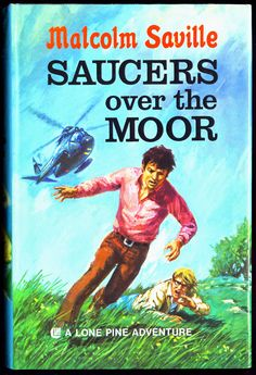 Saucers over the Moor by Malcolm Saville