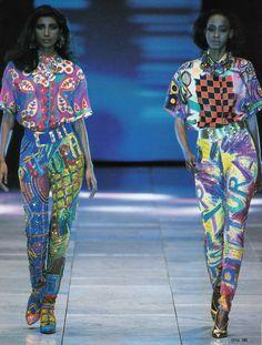1991 Gianni Versace Collezione Spring Summer / Lookbook