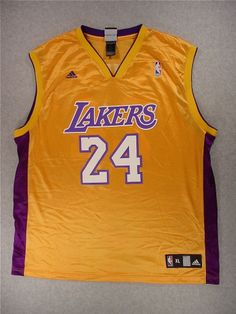 Los Angeles Lakers ADIDAS Screened Replica Basketball Jersey (