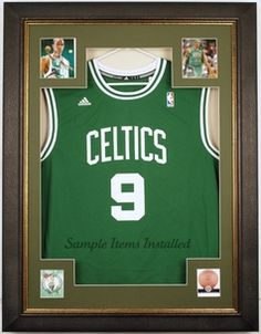 Basketball jersey display case $295