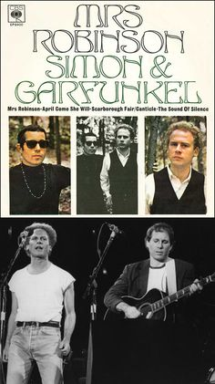 "1969 Grammy Awards: Record of the Year — Paul Simon & Roy Halee (producers) & Simon & Garfunkel for ""Mrs. Robinson"""