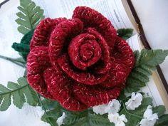 Ravelry: Crochet Bouquet Rose Pattern PDF pattern by Julie Price