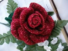 Ravelry: Crochet Bouquet Rose Pattern PDF pattern by Julie Price