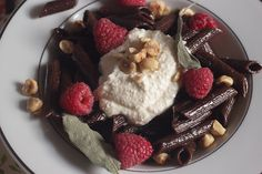 Chocolate Pasta with Sage Browned Butter Sauce and Whipped Ricotta - The Girl in the Little Red Kitchen Chocolate Pasta, Best Chocolate, Chocolate Recipes, Chocolate Heaven, Ricotta Dessert, Vegetarian Cooking, Italian Cooking, Dessert Recipes, Desserts