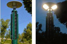 Vertikale Strömungsturbinen für Parklampen – greg-energy
