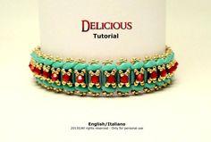 Tutorial Delicious Bracelet  Instant download PDF di FucsiaStyle, €5.00
