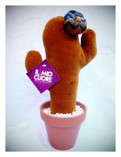 Cactus de tela de 35 cm de alto
