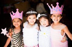 theme anniversaire princesse disney jeux activité photo