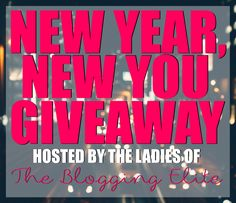 New Year New You Giveaway! - Pellerini Proclaims...