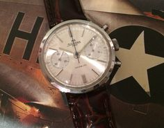 Pre owned vintage chronograph lovely condition, case. Pre Owned Watches, Fine Watches, Chronograph, Omega Watch, Accessories, Vintage, Nice Watches, Vintage Comics, Jewelry Accessories