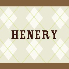 Henery - Meaning of Henery    What does Henery mean? Germanic House Owner, lord of the house  1. Henery   [ 3 syll. he-ne-ry, hen-ery ] The baby boy name Henery is pronounced as HHEHNeriy †. The origin of Henery is the Germanic language. Henery is a variant of the name Henry (English).
