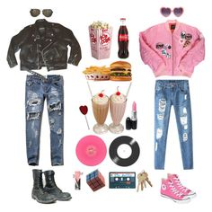"""80's Teen Flick"" by queenstormrider ❤ liked on Polyvore featuring Abercrombie & Fitch, Chicnova Fashion, Converse and Tom Ford"
