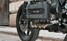 "Awesome ""Silver Gills"" custom K100 by Shaka Garage!"