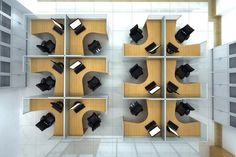 Office Cubicles Layout and Office Cubicles Designs