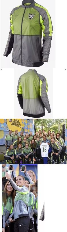 Women 159098: New Women Nike Usa National Soccer Football Ultra Light Jacket Msrp $160 -> BUY IT NOW ONLY: $47.95 on eBay!