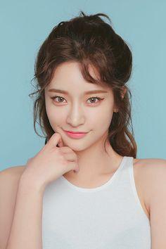 Byun Jungha – Byeon Jeongha – Model – Korean Model – Ulzzang – Stylenanda - All About Korean Model, Byun Jungha, 3 4 Face, Chica Cool, Asian Makeup, Korean Makeup, Model Face, Ulzzang Girl, Woman Face