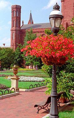 Smithsonian Castle - Garden