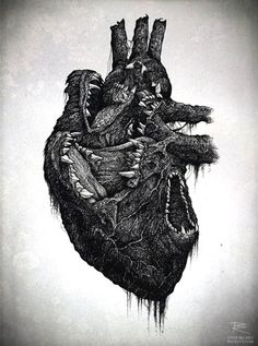 heart sketch | Tumblr