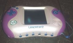 Leapster 2 Purple Console 3 Games Disney PIXAR COLLECTION TANGLED BACKYARDIGANS