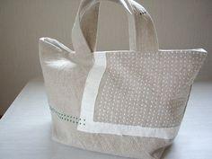 刺し子のトートbagの作り方|ソーイング|編み物・手芸・ソーイング