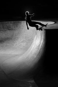 there are multiple edges in this picture. also i chose it as my passion is skateboarding.