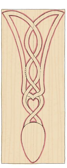 Carve A Traditional Celtic Lovespoon - The Woodworkers Institute