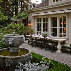This is a beautiful patio.