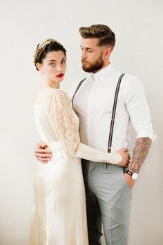Romance is in the air! Dress the part at your vintage inspired wedding.
