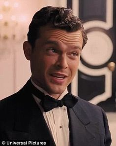 Work with me: Ralph Fiennes did his best to help a young actor (portrayed by Alden Ehrenreich) nail a difficult line in a new trailer for Hail, Caesar!