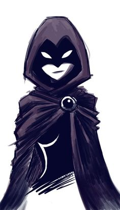 Raven from Teen Titans. I remember watching this show when I was really little. good times :):