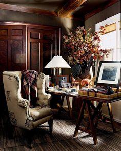 Ralph Lauren Living Room Luxury Ralph Lauren Home English Country Decor, Rustic Interiors, Best Interior, Elle Decor, Interior Design Inspiration, Design Ideas, Cozy House, Decoration, Family Room