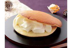【和スイーツ】ローソンから「レアチーズのもっちりとした生どら焼」が新発売  1/17発売です♪ #ローソン #和スイーツ #生どら焼き #レアチーズ