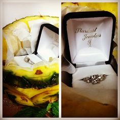 Custom ring in a custom dessert - Stardust Jewelers Mendon creates customized jewelry for engagement rings, wedding rings, and any special occassion that matches your needs! Proposals, Alicante, Engagements, Special Occasion, Wedding Rings, Restaurant, Engagement Rings, Jewels, Instagram Posts