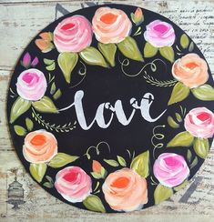 Wooden Door Signs, Wooden Doors, Wood Crafts, Diy And Crafts, Decoupage Paper, Mix Media, Queso, Painting, Creative Art