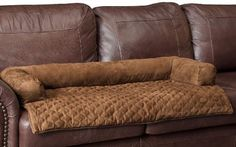 The NEW Solvit Sta-Put™ Bolster Couch Protector comes in a beautiful Cocoa color and 2 convenient styles. The Luxurious stain-resistant top, micro-suede fabric are designed to keep your couch protecte