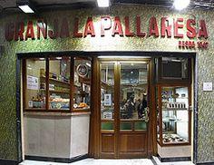 Granja-Xocolateria La Pallaresa  C/ Petritxol, 11  Barcelona .....Da muss man gewesen sein!!!