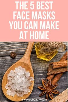 Face masks are one of the easiest skin care products you can do at home yourself. Here are three great recipes for masks to make you look and feel your best. Wrinkle Remedies, Create A Recipe, Best Face Mask, Best Face Products, Beauty Products, Hand Care, Homemade Face Masks, Beauty Recipe, Diy Skin Care
