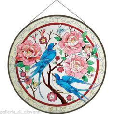 ideas art nouveau tattoo bird stained glass for 2020 Glass Painting Designs, Stained Glass Designs, Stained Glass Patterns, Stained Glass Art, Paint Designs, Art Nouveau, Nouveau Tattoo, L'art Du Vitrail, Panel Art