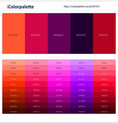 Colors included in this palette similar to Black, Brown, Claret Red, Crimson, Crimson and Dark Red, Crimson and Indigo, Crimson and Purple, Dark Gray / smoked, Dark Red, Indigo, Indigo and Dark Red, . Download color palette as Pdf, Adobe swatch and more. Red Colour Palette, Paint Color Palettes, Red Color, Color Palette Challenge, Hex Color Codes, Persian Blue, Mood And Tone, Pompadour, Teal Colors