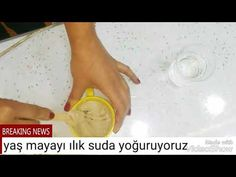 Kaz ayaklarına kırışıklığa son evde maya maskesi - YouTube
