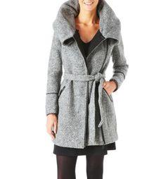 Abrigo de tweed