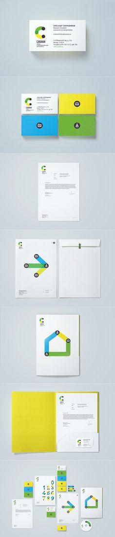 Caravan. Умный оператор для умного бизнеса.. Фирменный стиль © Егор Мызник