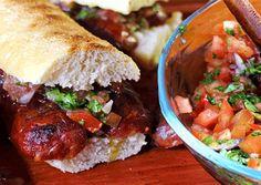 Receta choripan argentino con Chorizo Salinerito