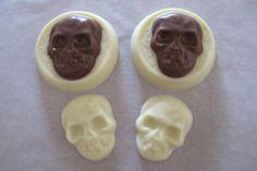 Spooky Skull Chocolates