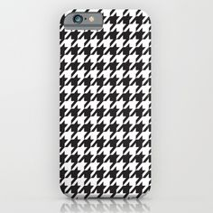 Buy Retro #77 iPhone & iPod Case by xiari. Worldwide shipping available at Society6.com. Just one of millions of high quality products available. #houndstooth #society6 #black #white #blackandwhite #pattern #retro #vintage #modern #midcentury #christiandior #fashion #fashionista #pop #design #designer #phonecase #phoneskin