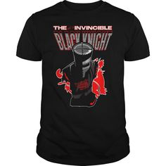 The Not So Invincible Black Knight funny t shirt