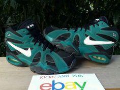 eb06c3d7e7ea1 VTG OG 1995 Nike Air Diamond Fury Ken Griffey Jr Black Fresh Water Teal  Original  Nike  AthleticSneakers